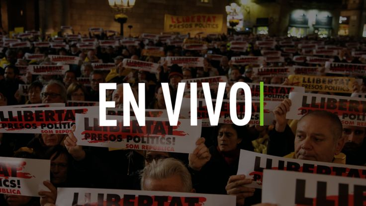 ICYMI: EN VIVO: Manifestantes en Barcelona exigen la liberación de los líderes catalanes encarcelados