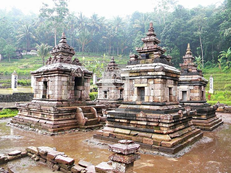 "Ngempon temples, a place where ""Empu"" calming their minds."