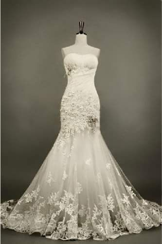 Resale wedding dress site!!! Other lace mermaid