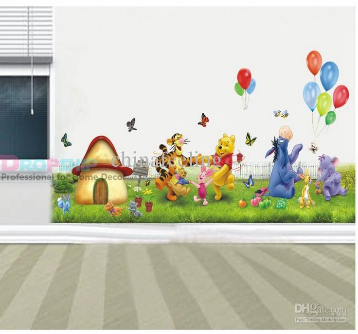 pool and tiger cartoons for kids room 6090cm 5070cm mixed ordered free. Interior Design Ideas. Home Design Ideas