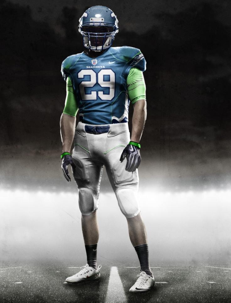 SEATTLE SEAHAWKS 2012 NIKE NFL UNIFORM