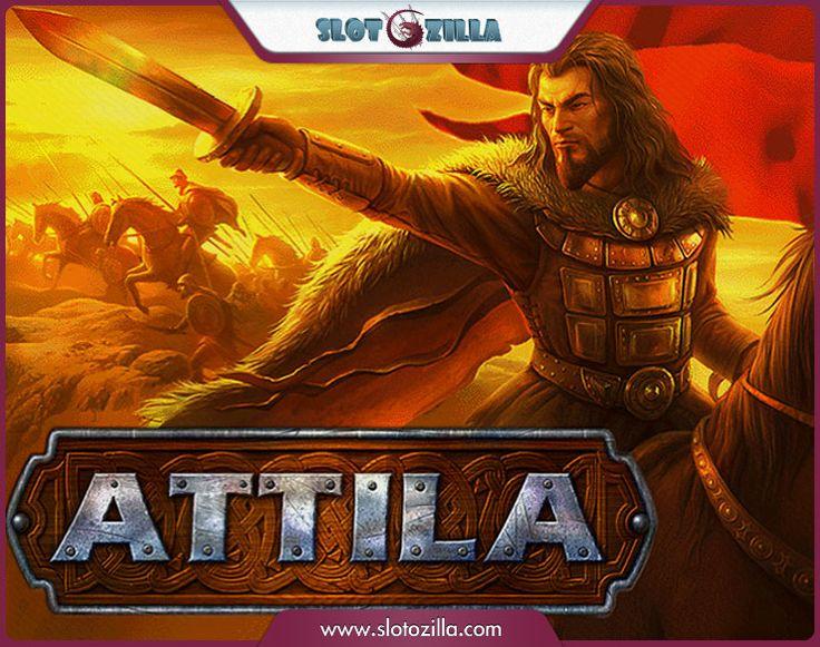 ★ Command and Conquer! ★  Fight shoulder to shoulder with fearsome Attila! Fortune favors the brave! Play Attila www.slotozilla.com   http://www.slotozilla.com/free-slots/attila