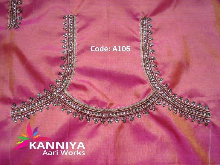 1000 Images About Kanniya Aari Works On Pinterest