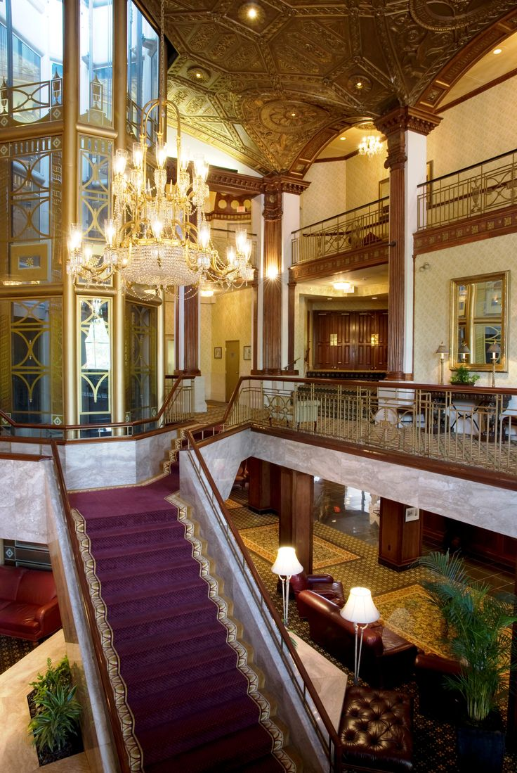 Providence Biltmore   #VisitRhodeIsland  #travel  #tophotels My nephew loved the glass elevator when he was a kid.