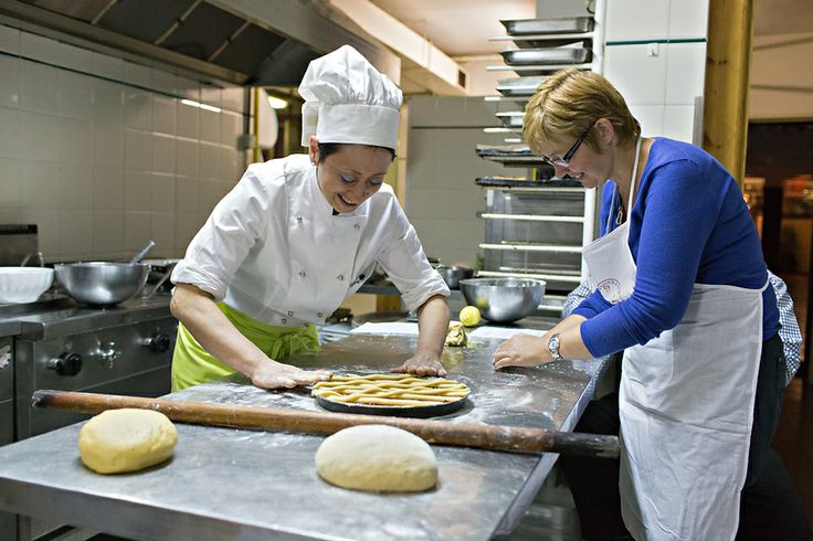 Cooking lessons at Guesia Village Hotel, Restaurant Da Angelo