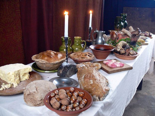 Medieval feasting history pinterest