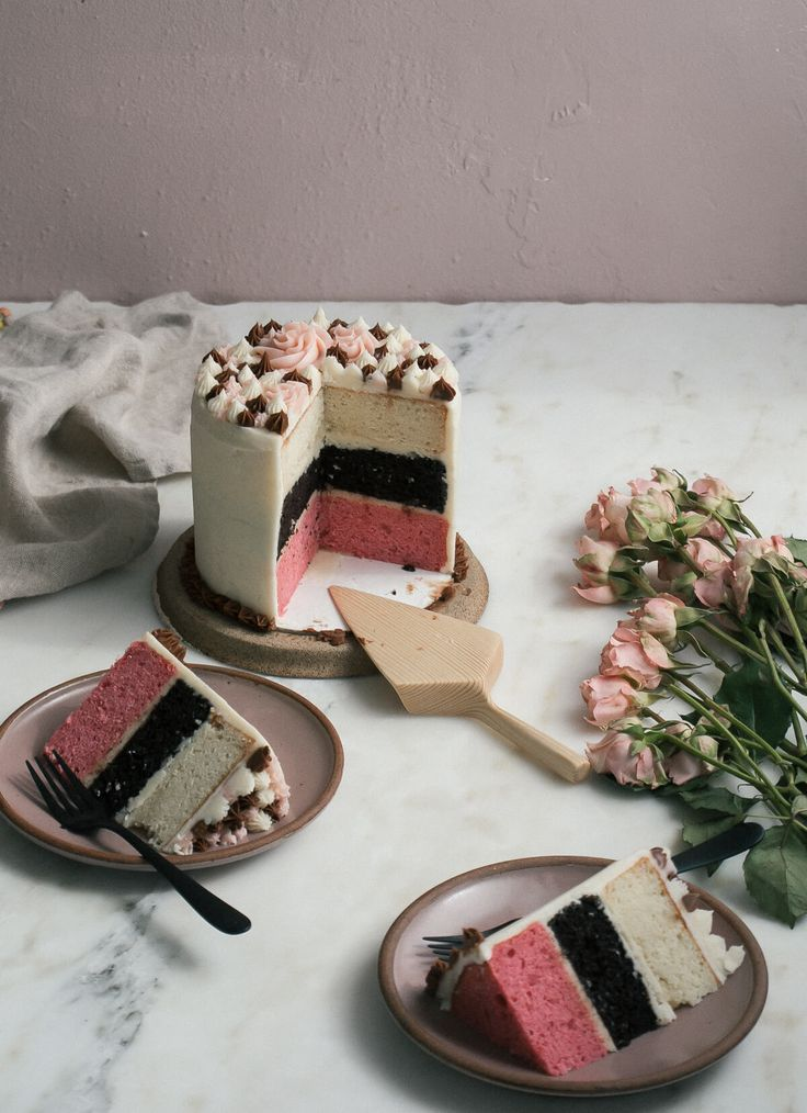 Mexican Neapolitan Cake – A Cozy Kitchen