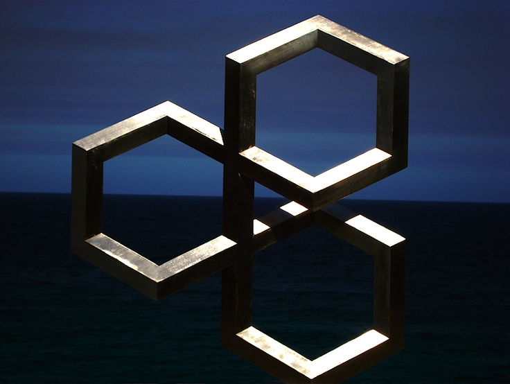 One of the sculptures by the sea, Sydney, 2011. Photo by me.
