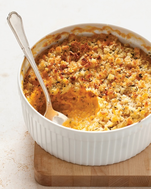 Sweet Potato and Sage-Butter Casserole - Martha Stewart Recipes