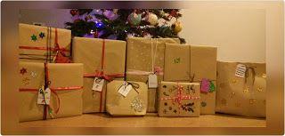 la abeja obrera: Paquetes de Papá Noel