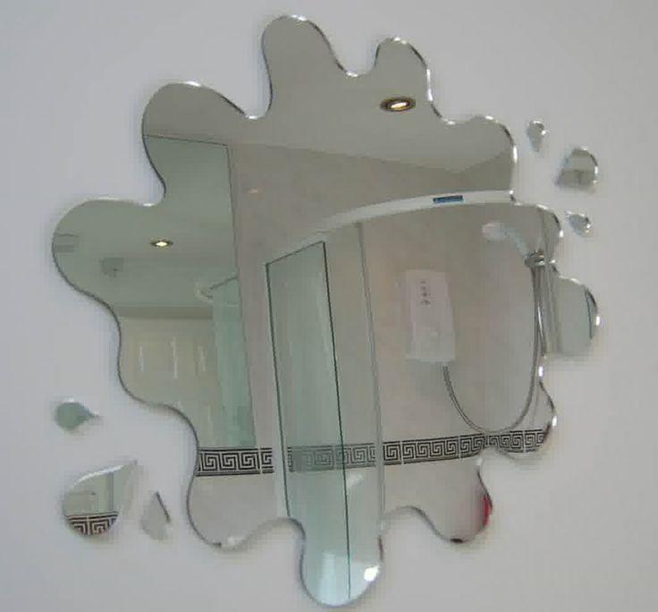 the world's catalog of ideas, unique shaped bathroom mirrors