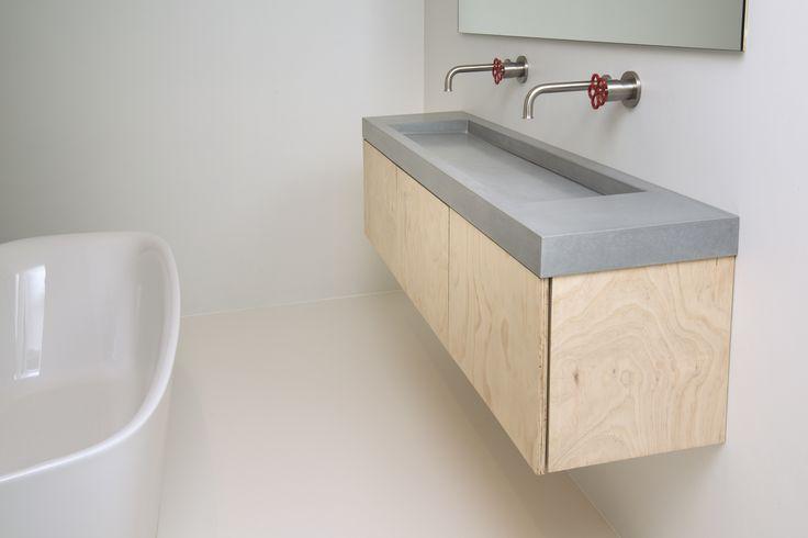 19 best images about 8R made Concrete sinks 8R gemaakte Betonnen wastafels o # Wasbak Lamp_182834
