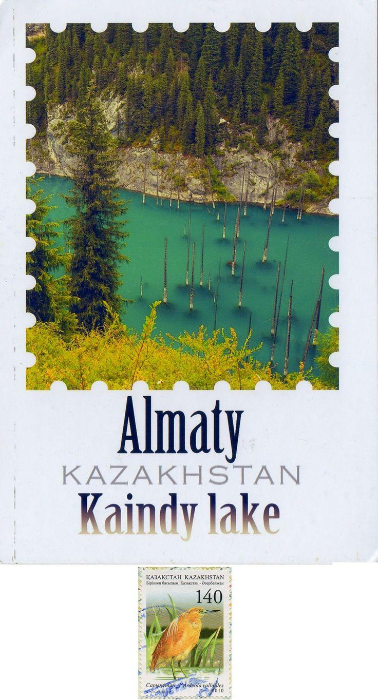"""Swap - Arrived: 2016.10.15   ---   Kaindy Lake (= """"Birch Tree Lake"""")"""