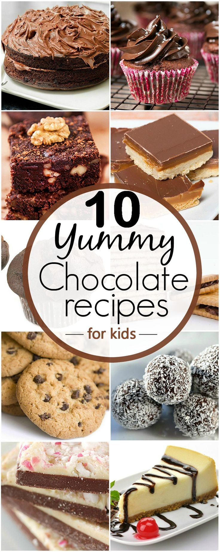 10 Yummy Chocolate Recipes For Your Kids You Should Try: Engage your kids free time in helping you prepare the below mentioned yummylicious treats. This way they will also learn something about cooking too!
