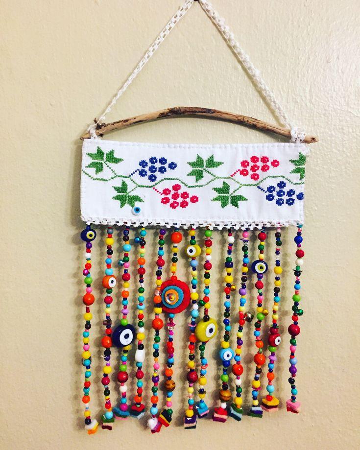 Nazarlık, nazar, driftwood, amulet, yalos, handmade, tasarım, design, turkish eye