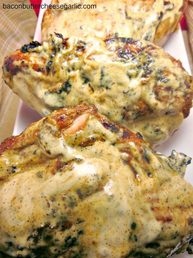 Grilled White BBQ Chicken