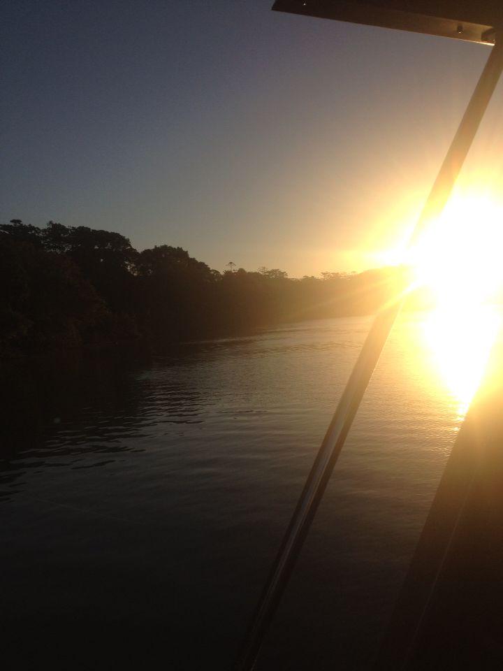 Sunset over Tweed River, Tweed Heads NSW