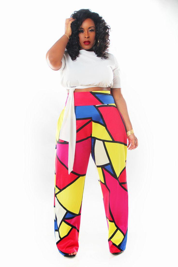 66 Best Plus Size Wide Legpalazzo Pants Images On Pinterest
