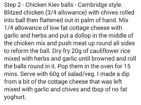 Chicken Kiev Balls Recipe Step 2