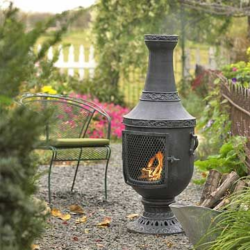 Outdoor Fire Pit Picks: Open Grills, Fire Pits, And Chimineas