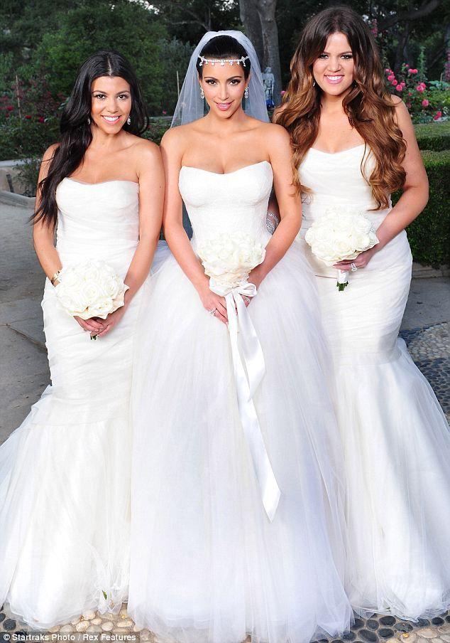 Kardashian Gowns Bridesmaid Khloe