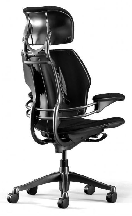 Freedom Chair - Humanscale  Available at www.rainbowdesign.co.uk