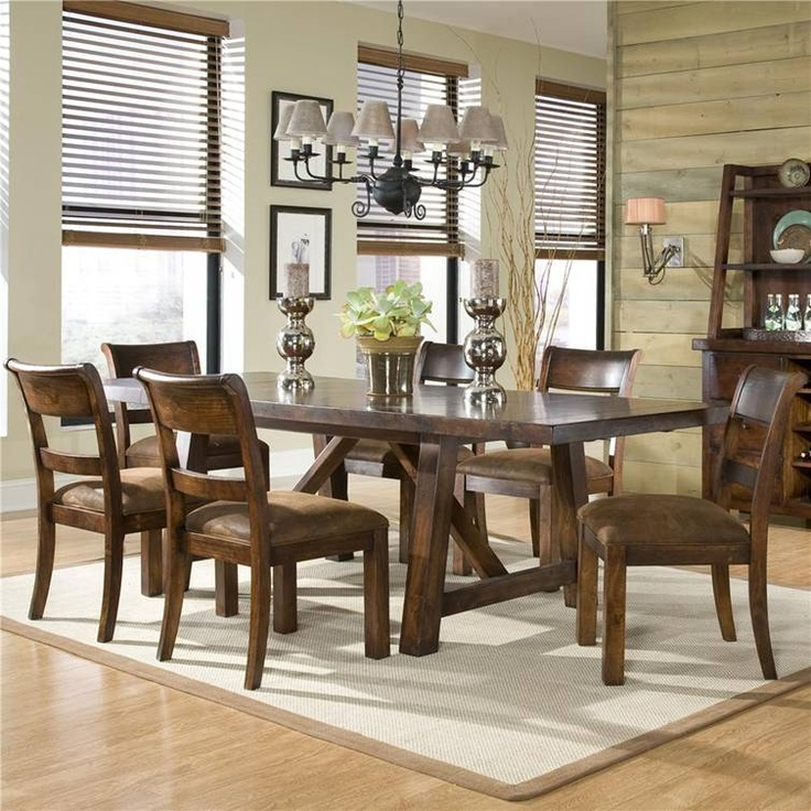 legacy classic woodland ridge rectangular trestle table with two leaves ahfa dining room table dealer locator