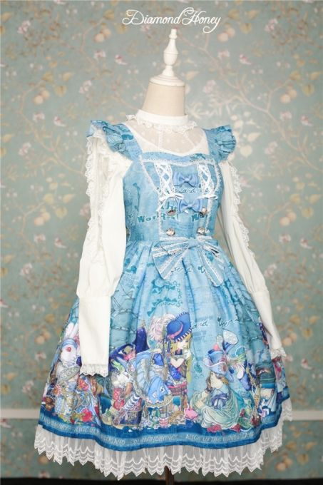 5480540af02b Alice In Wonderland~ Sweet Lolita JSK Dress Version II | Lolita ...