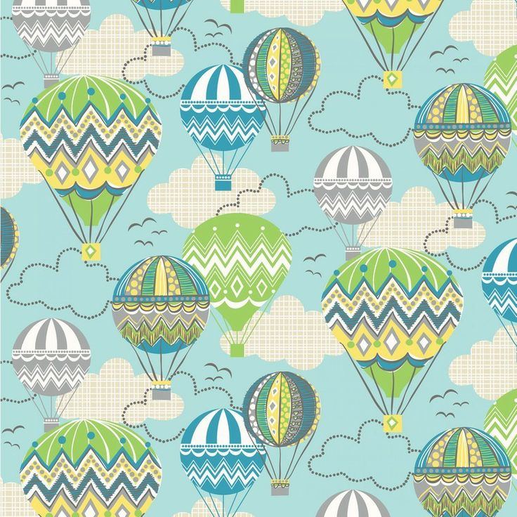 Sew Scrumptious Fabrics - Blend - Blown Away - Balloon Ride (Blue), £3.20 (http://www.sewscrumptious.co.uk/blend-blown-away-balloon-ride-blue/)