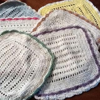 101 Beste Afbeeldingen Over Crochet Dishcloth Kitchentowel