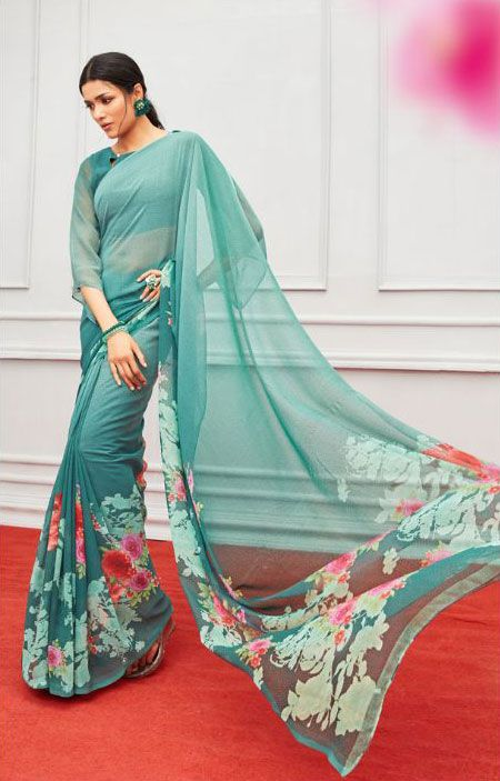 72531790c8 sethnic shop digital printed saree catalogs for wholesale supply | Things  to Wear(Sarees) | Saree, Floral print sarees, Saree blouse designs