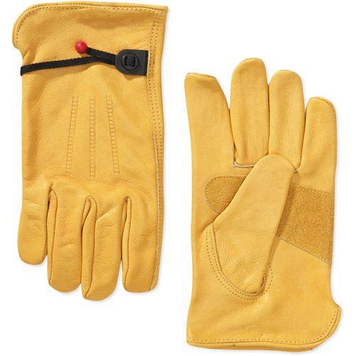 Wells Lamont Grain Cowhide Work Gloves For Men Medium