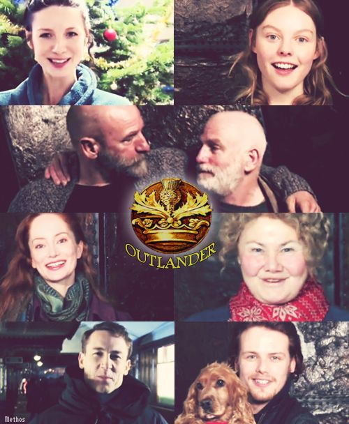 Merry Christmas Video by Outlander Starz Cast