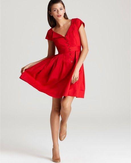 Vestidos de coctel tendencia 2014 7 series