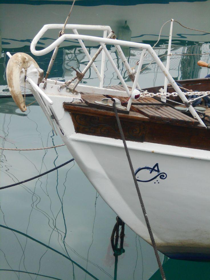Proa de velero. Puerto de Málaga