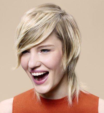 10 beeldige korte kapsels die zeer geschikt zijn voor dames met heel steil haar. - Kapsels voor haar