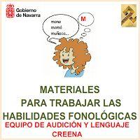 Material de consciència fonològica: http://creena.educacion.navarra.es/recursos/guiastatdah/pdfs/habilidades_fonologicas.pdf