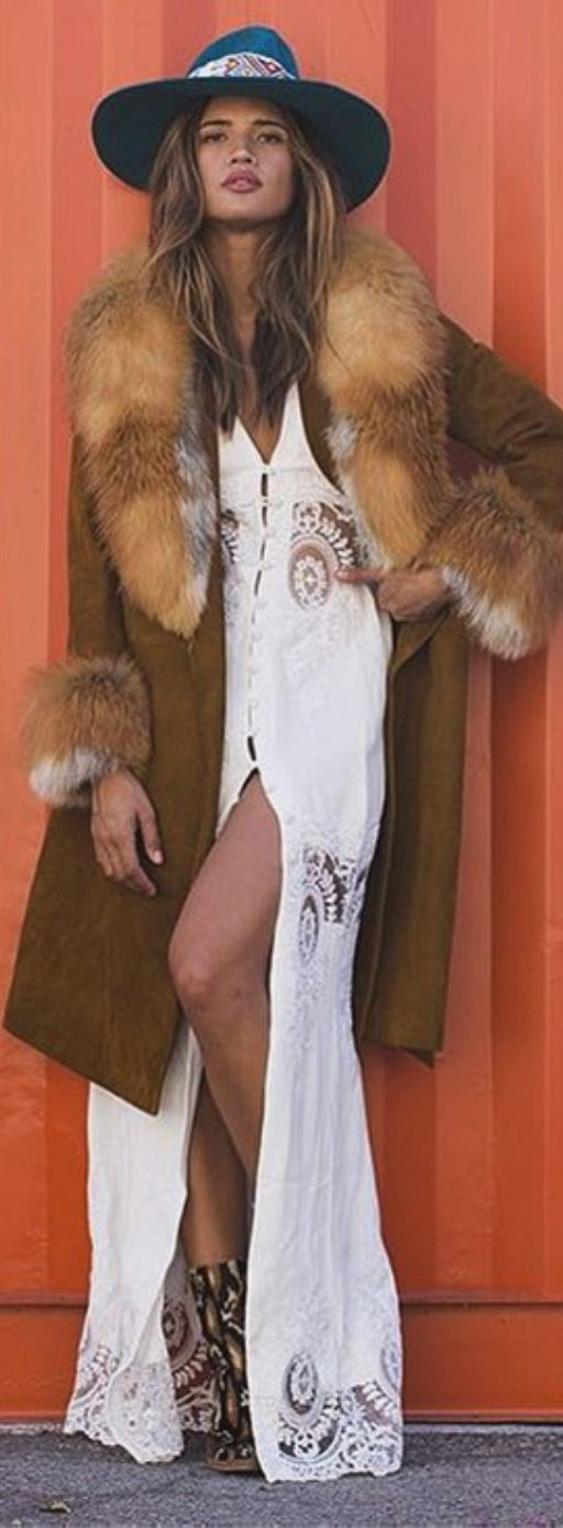 Stone Cold Fox. The dress, NOT the fur!