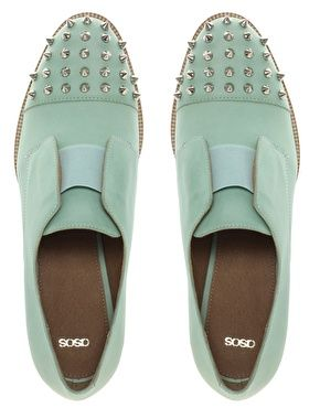 i know not beauty , but this is still very beautiful: Leather Flats, Mint Green, Fashion Shoes, Color, Flats Shoes, Mint Shoes, Men Shoes, Girls Fashion, Girls Shoes