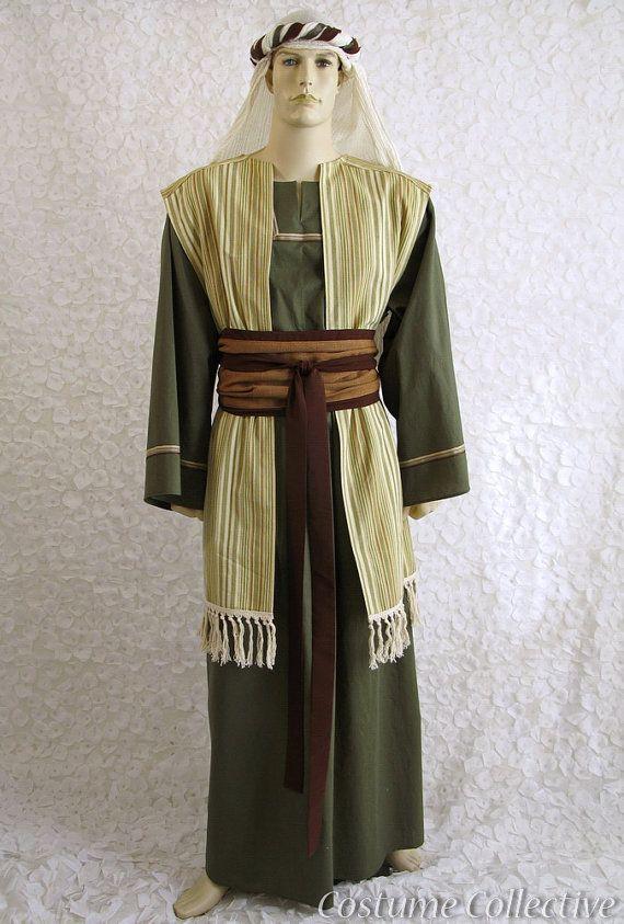 Joseph, Shepherd or Innkeeper's Costume for Passion Play