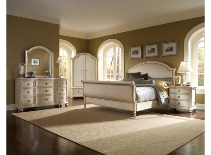 Provenance Upholstered Bedroom Set. I think this is going to be by next bedroom look.