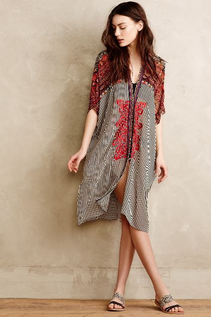 Agni Kimono Cover-Up - anthropologie.com