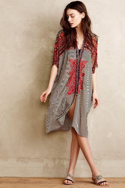 Agni Kimono Cover-Up - anthropologie.com