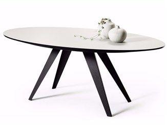 Table à manger ovale BELLY | Table ovale - Odesi. Dutch Design Online