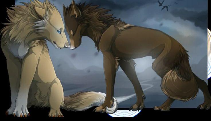WildSpiritWolf contest by Shadowwolf on DeviantArt  Two Wolves In Love Anime
