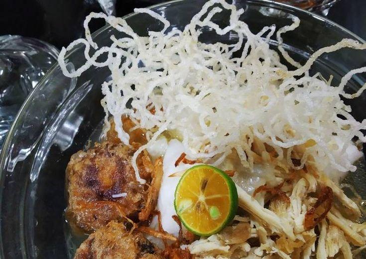 Bahan Soto Simple Sedap Yang Cepat Aneka Resepi Enak Resep Sup Ayam Nasi Resep