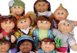 Cabbage patch kids - che bruttine che erano! non a caso: Le bambole del CAVOLO ;)