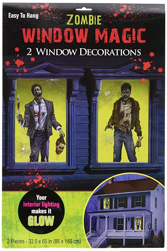 Zombie Window Halloween Decorations Halloween Clothing and Gifts