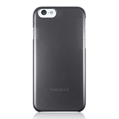"Macally Protective Metallic Snap On Case (SNAPP6M-B) Black (iPhone 6 - 4.7"") - myThiki.gr - Θήκες Κινητών-Αξεσουάρ για Smartphones και Tablets - Macally AlumSnap Black"