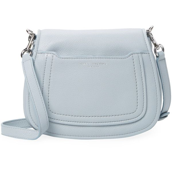 0db8a27f0c55b Marc Jacobs Women s Empire City Leather Saddle Bag - Light Pastel Blue  ( 159)
